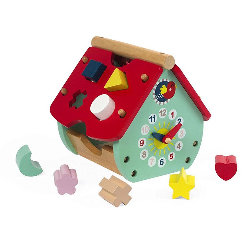 Boite A Formes Maison A Formes Baby Forest Janod 11571 Magasin De Jouets En Bois Et Jeux Pour Enfant