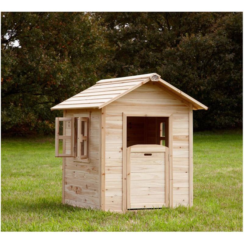 cabane d'enfant en bois noa axi 6882  magasin de jouets
